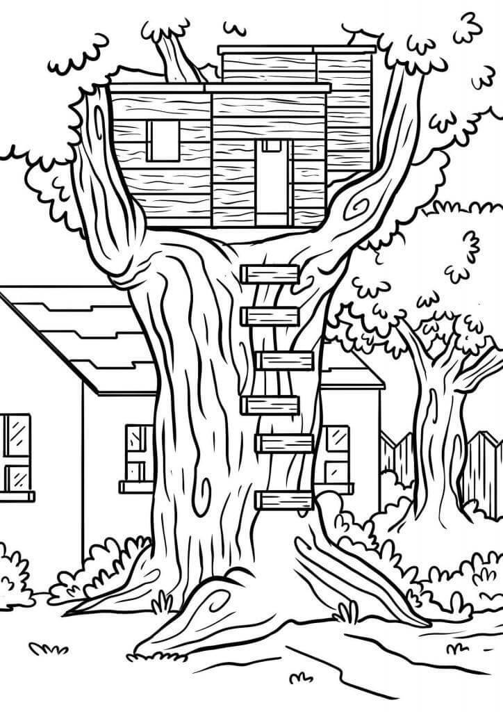 Dům ve stromě