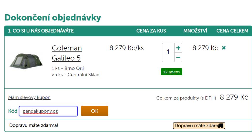 Slevový kód Hanibal.cz