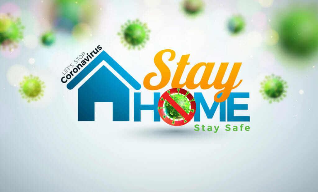 COVID19 - Jak se z toho doma nezbláznit? Zůstaň v bezpečí domácí karantény.