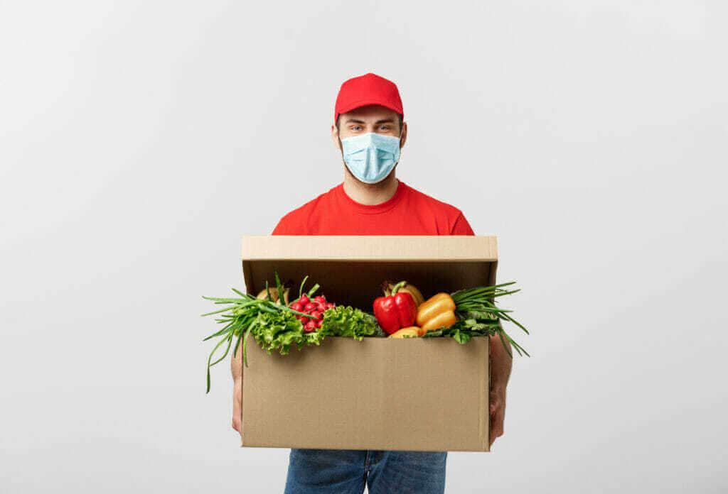 Online nákup potravin