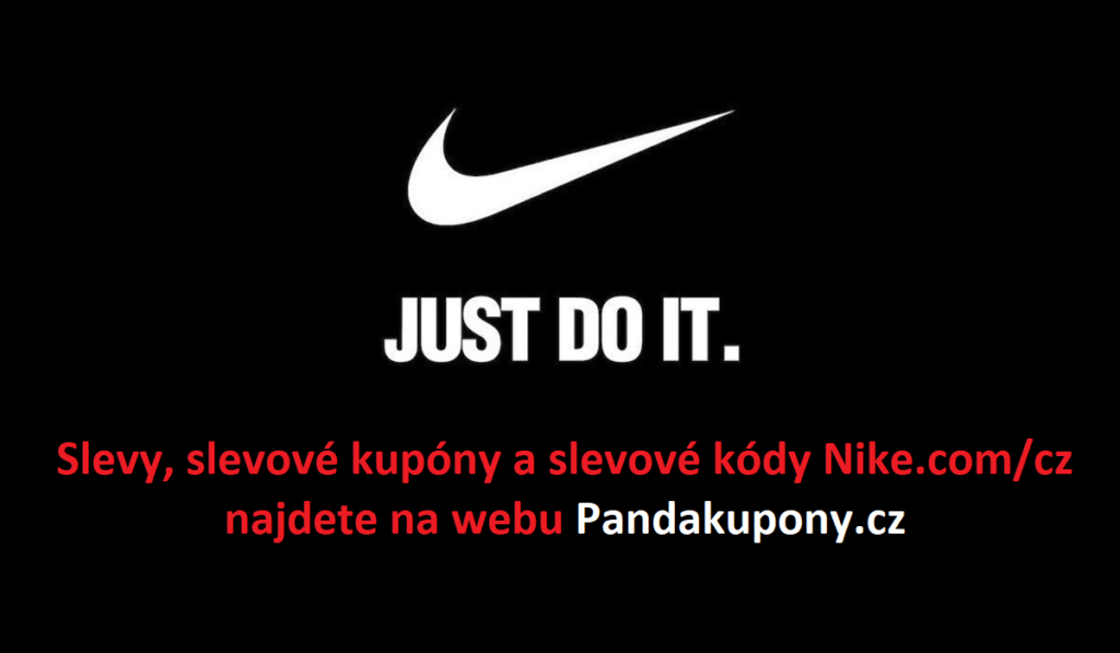 Slevové a promo kódy Nike.com/cz