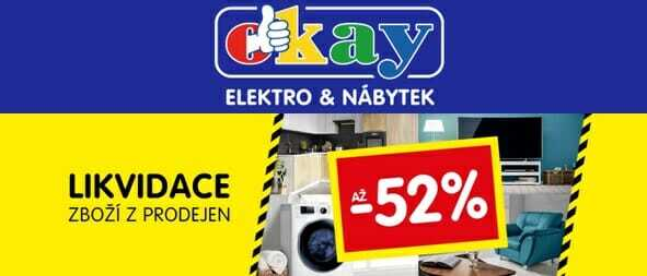 Slevy až 52% Okay.cz